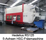 Hedelius RS125 Fräsmaschine